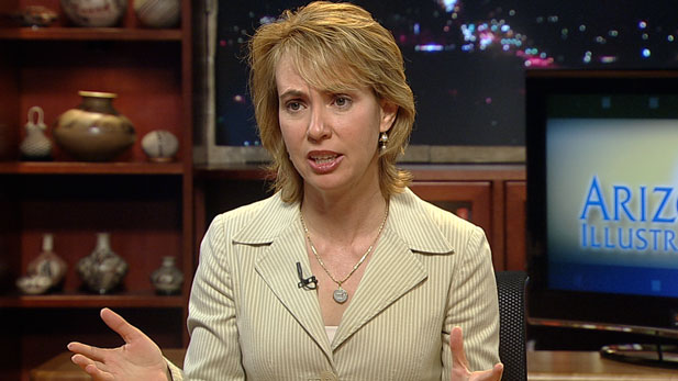 The Friday Newsmaker interview is with Congresswoman Gabrielle Giffords.