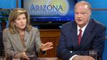 Republican Tom Horne and Democrat Felecia Rotellini face-off in the battle for Arizona's top legal job: Arizona Attorney General.