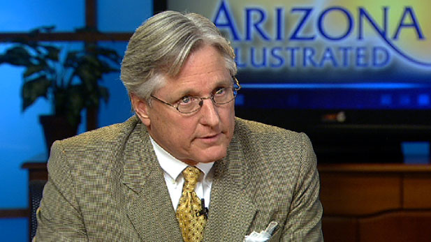 Arizona Board of Regents' Chairman Fred DuVal.