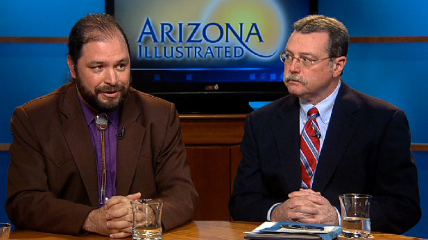 Tom Prezelski, a former AZ state Legislator, and Jeff Rogers, Chair of the Pima County Democratic Party, discuss their positions on Proposition 401 on the the Tucson City Charter.