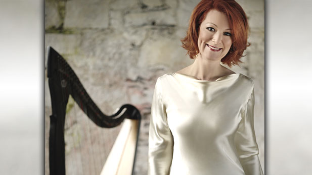The singer, harpist and former Celtic Woman steps out on her own for the first time in the new national public television concert Órla Fallon's Celtic Christmas.