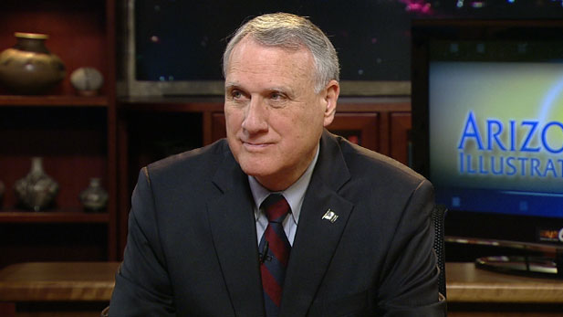 Senator Jon Kyl discusses the impact of the shift in power in Congress in a November episode of *Arizona Illustrated*.