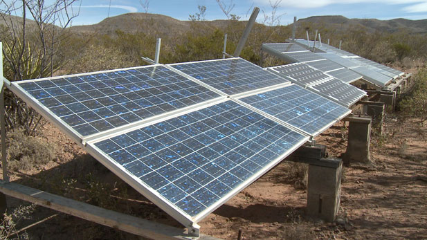 "Tony Paniagua visits two homeowners in Cochise County whose houses are ""off the grid."""