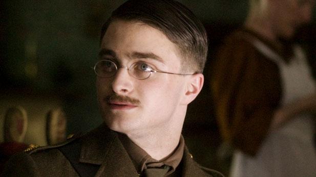 Daniel Radcliffe stars as Jack — son of British literary giant Rudyard Kipling.