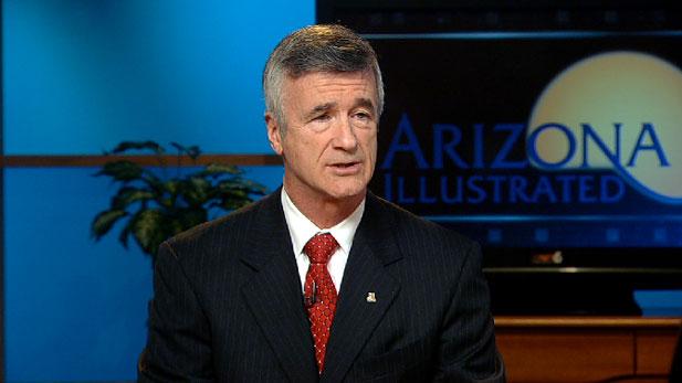 UA President Robert N. Shelton