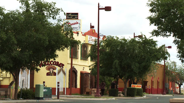 El Dorado Restaurant in the City of South Tucson