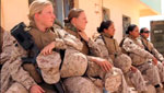 Female soldiers in Iraq