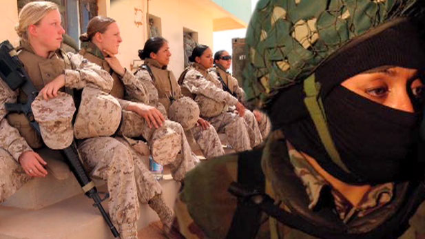 Many American women fought in Iraq