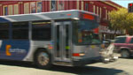 Bus in downtown Tucson