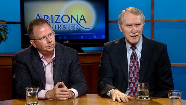 Economists Dennis Hoffman and Marshall Vest
