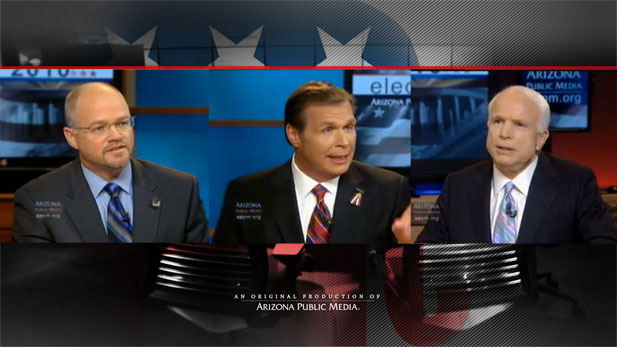 Jim Deakin, JD Hayworth, John McCain debate the issues