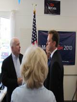 McCain and Paton Talk