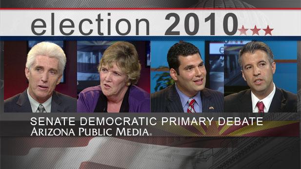 US Senate Democratic Debate