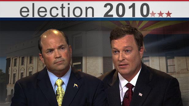Bill Buckmaster interviews the two candidates for Arizona Senate District 30, Republican Frank Antenori and Democrat Todd Camenish.