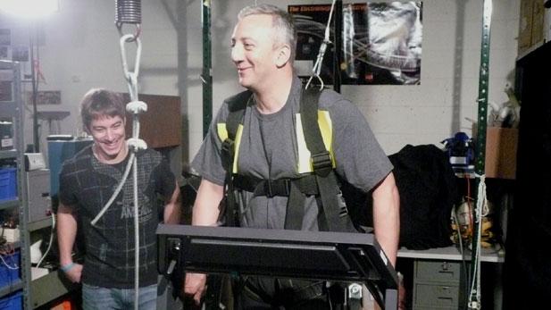 Mike Massimino on moonwalker