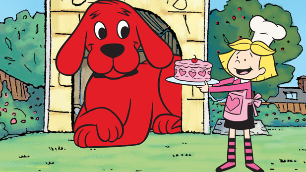 Clifford spreads love all year long but especially on Valentine's Day!