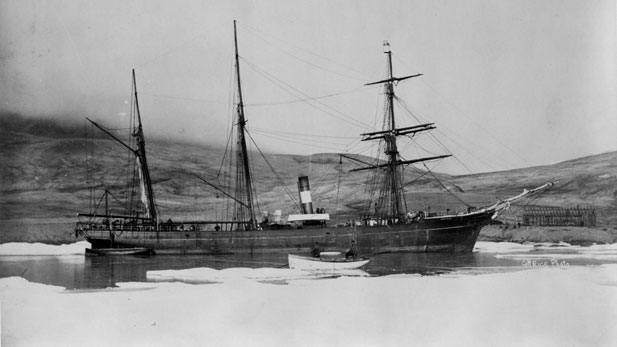 The USS Proteus in Lady Franklin Bay