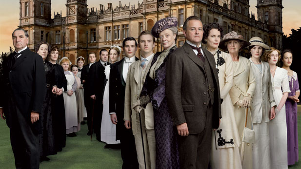 All-star cast, including Hugh Bonneville, Dame Maggie Smith and Elizabeth McGovern.