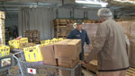 We visit two food banks in Nogales, Arizona where there is a huge need for these services.