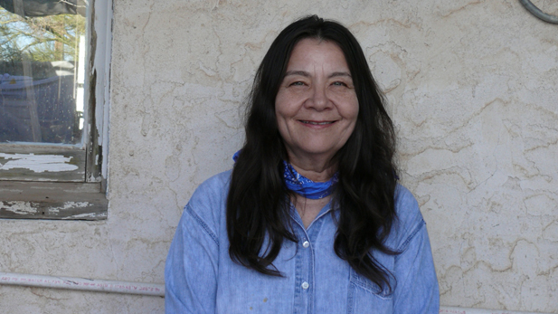 Author Leslie Marmon Silko draws inspiration from the wilderness around her Tucson home.