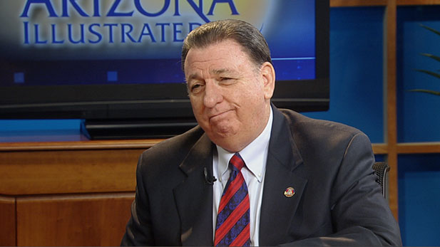 Steve Lynn, outgoing chairman of the Arizona Independent Redistricting Commission, discusses the work of redrawing state Congressional district boundaries.