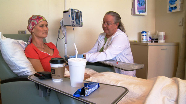 A year spent battling breast cancer changed patient Pat Mersiowsky and her family forever.
