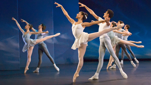 """The Miami City Ballet performs George Balanchine's """"Square Dance."""""""