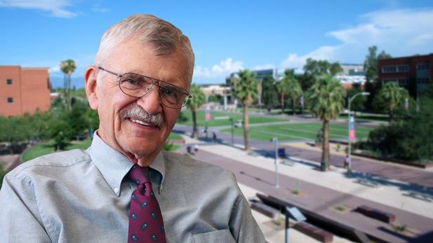 Eugene Sander, president of the University of Arizona