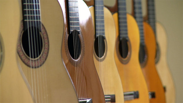 Celebrating the beauty, craftsmanship, and audio nuances of acoustic and electric guitars, the University of Arizona Museum of Art presents Good Vibrations: The Guitar as Design, Craft and Function.