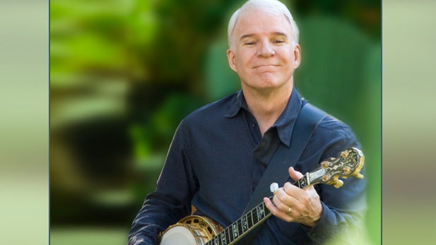 Banjoist and narrator, Steve Martin