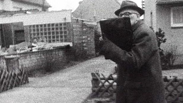 Nazi war criminal Kurt Lishka, photographed in Cologne, Germany, in 1971.
