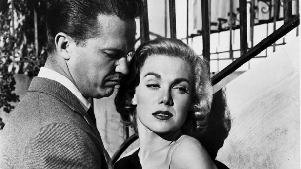 """Kiss Me Deadly"" starring Ralph Meeker"