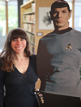 wendy burk and spock portrait