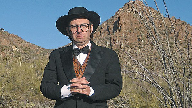 Comedian (and occasional country & western entertainer) Neil Hamburger in Tucson