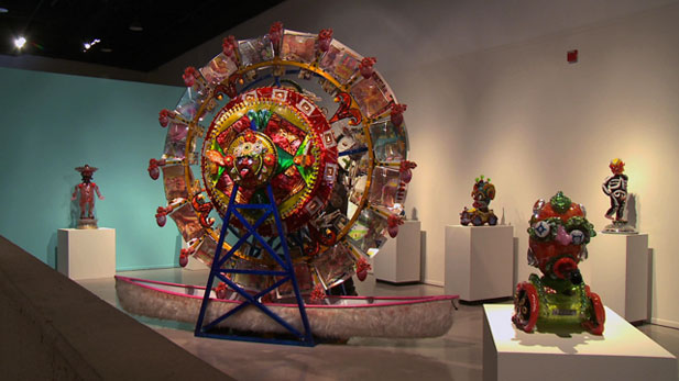 "The ""Borderlandia: Cultural Topographies"" exhibit at the Tucson Museum of Art explores some of the unique themes of U.S./Mexico interactions."