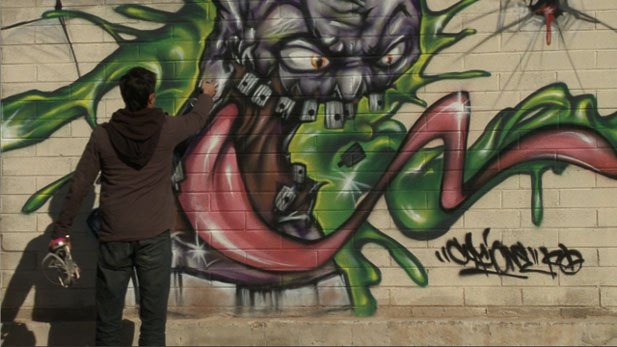 One former illegal tagger is exploring alternatives to the city's ongoing graffiti abatement program.