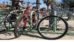 Local leaders are trying to increase the number of bicycle users in our community.