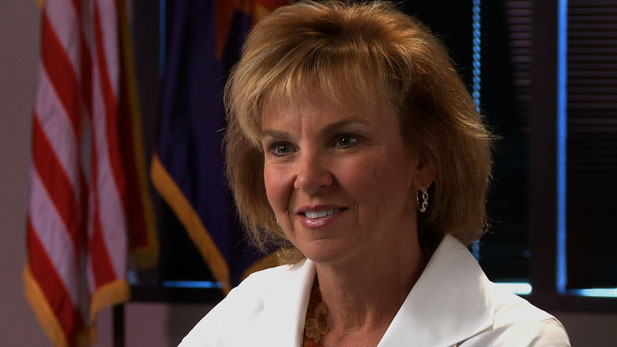 Arizona struggles to draw large corporate employers, says state Board of Regents Chair Anne Mariucci.