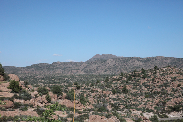 Oak Flat, east of Superior, is where Resolution Copper proposes to build a large underground mine.