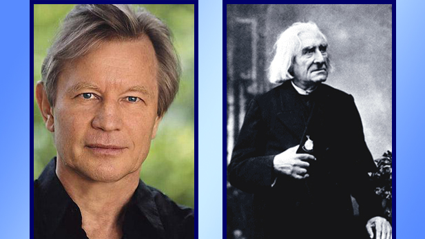 "Actor Michael York portrays composer and pianist Franz Liszt in ""Lisztian Loves"""