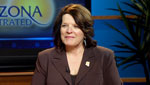 State Senator Linda Lopez (D-Tucson) sits down with Christopher Conover to discuss the Fiesta Bowl ethics probe and the new state budget.