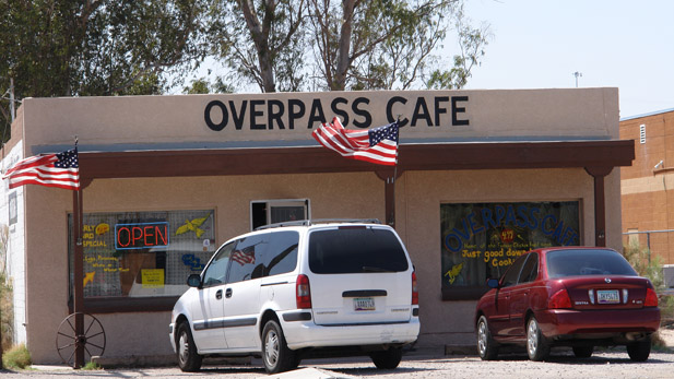 overpass cafe spotlight