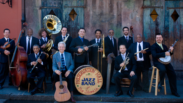 The Preservation Hall Jazz Band join forces with bluegrass legend Del McCoury & his band.