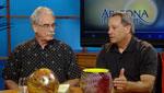 Kimberly Craft interviews Michael Nicholas - Director of Sonoran Glass Art Academy  and Tom Philabaum glass art  artist