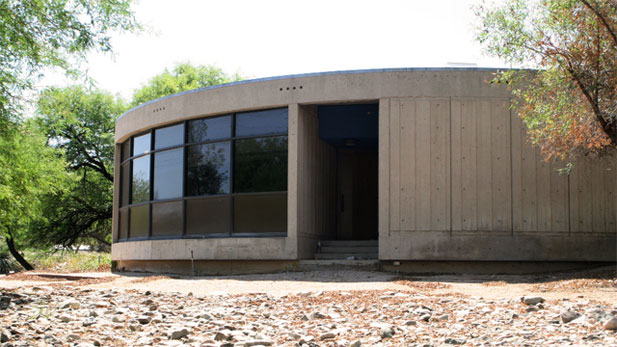The Valley National Bank Operations Center is an early example of modern architecture in Tucson.
