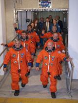 endeavour crew portrait