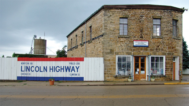 It doesn't matter if you're driving east or west on the Lincoln Highway, if you pass through Franklin Grove, you will want to stop at this historic mid-19th-century building, once owned by a distant cousin of Abraham Lincoln.