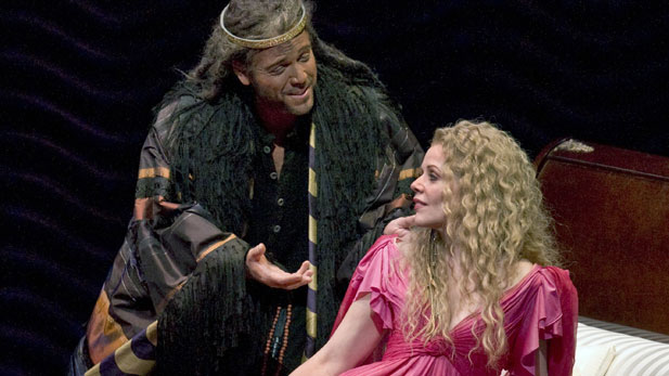 Thomas Hampson stars as the monk who tries to save the courtesan Thaïs, sung by Renée Fleming