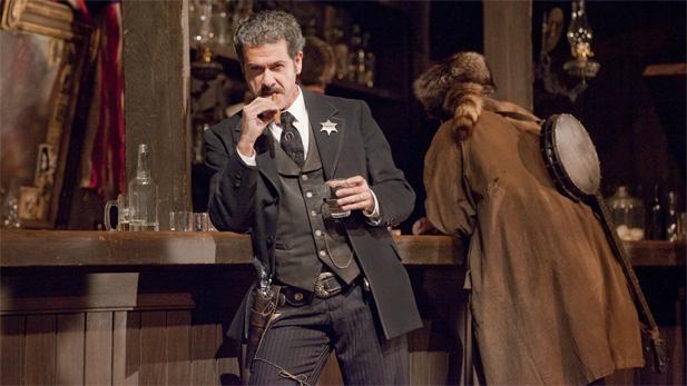 "Lucio Gallo as Jack Rance in The Metropolitan Opera's presentation of Puccini's ""La Fanciulla del West"" conducted by San Francisco Music Director Nicola Luisotti in Giancarlo Del Monaco's 1991 production."