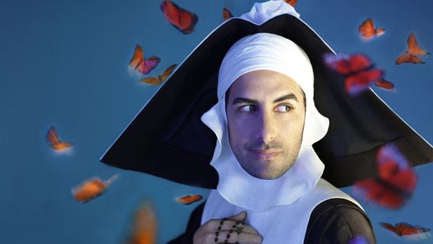 "Juan Diego Flórez in the title role (in nun disguise) in Rossini's ""Le Comte Ory.""Photo: Marty Sohl/Metropolitan Opera."